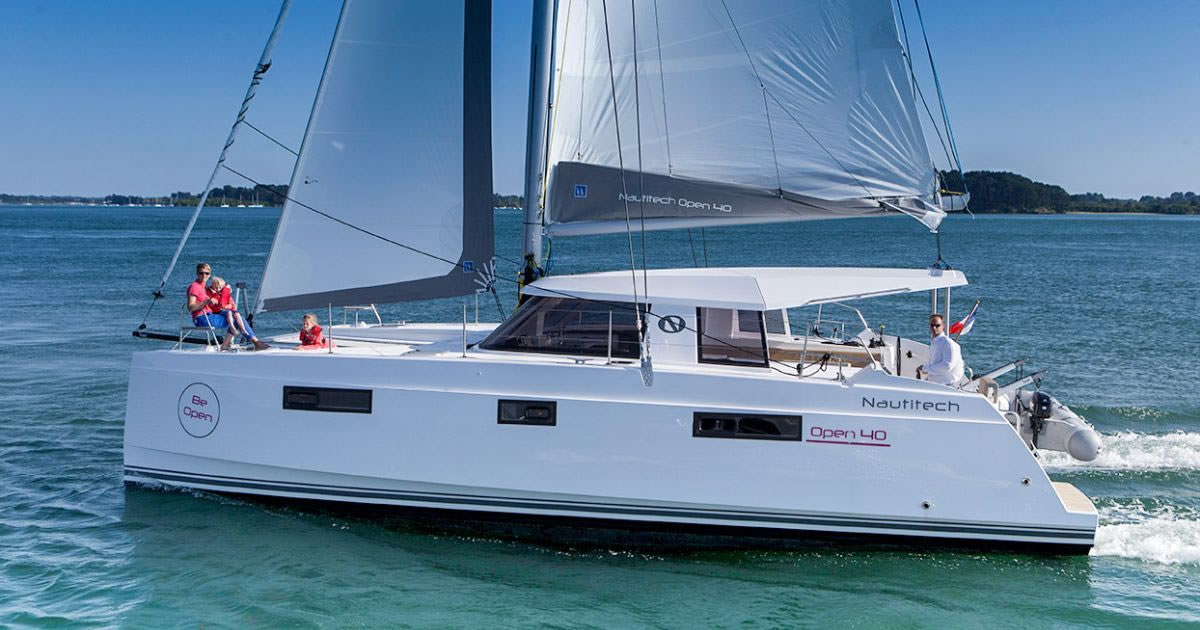 Nautitech Open 40 for charter