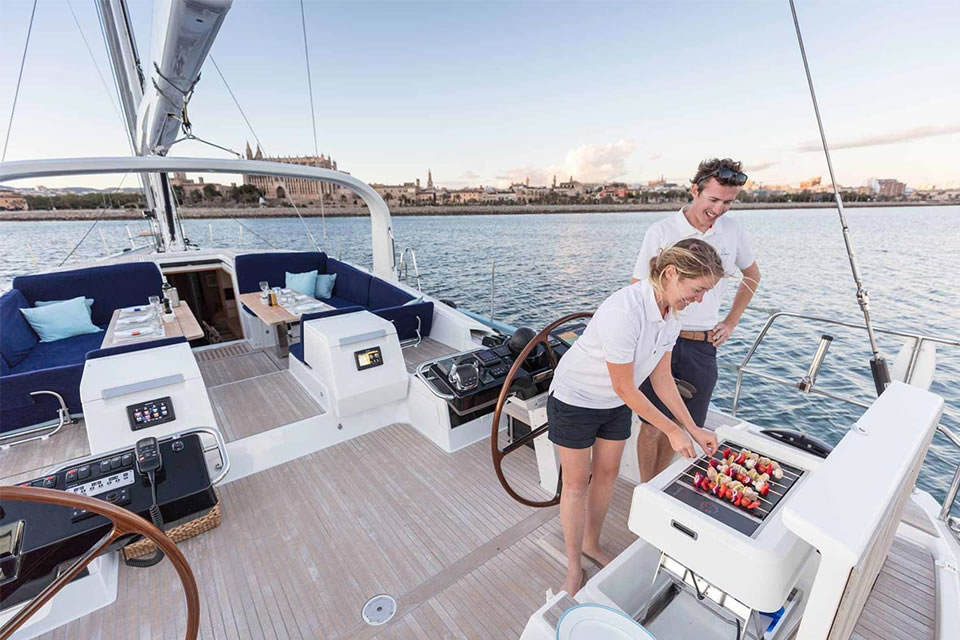 yacht sailing holiday crewed charter